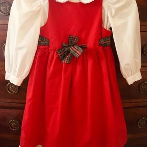 💕HOST PICK💕Two-piece Dress with Plaid Ribbon